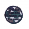 Badge rond militaire