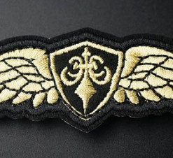 Patch air force marron