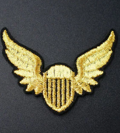 Patch militaires or